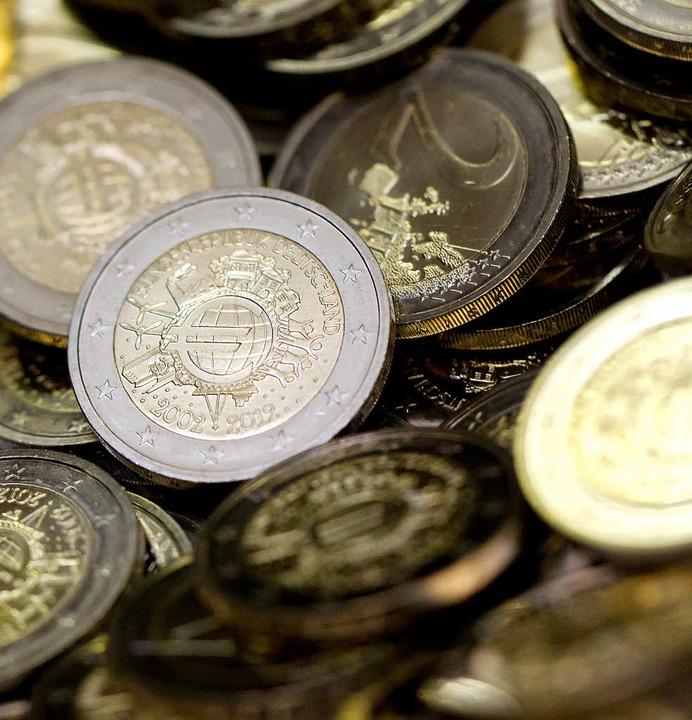 Ein paar Euro mehr an Steuereinnahmen ...e Gemeinde im Jahr  2013 nicht machen.  | Foto: DPA