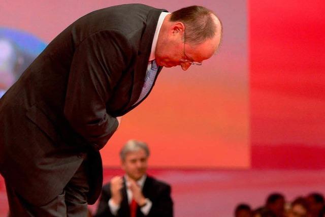 Peer Steinbrück: In seiner Vision ist er schon Kanzler