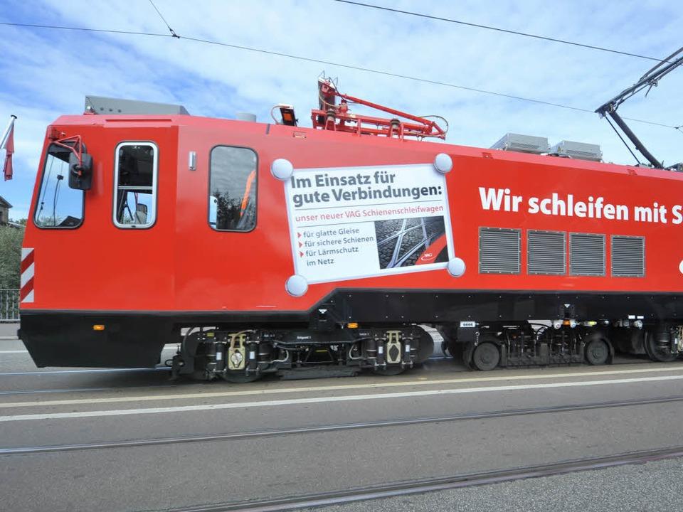 Der Schienenschleifwagen schleift nicht mehr. (Archivbild)  | Foto: Michael Bamberger