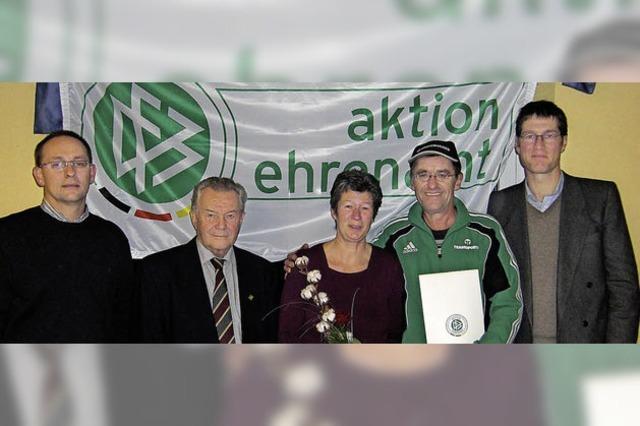 DFB-Ehrenamtspreis für Willi Buttenmüller
