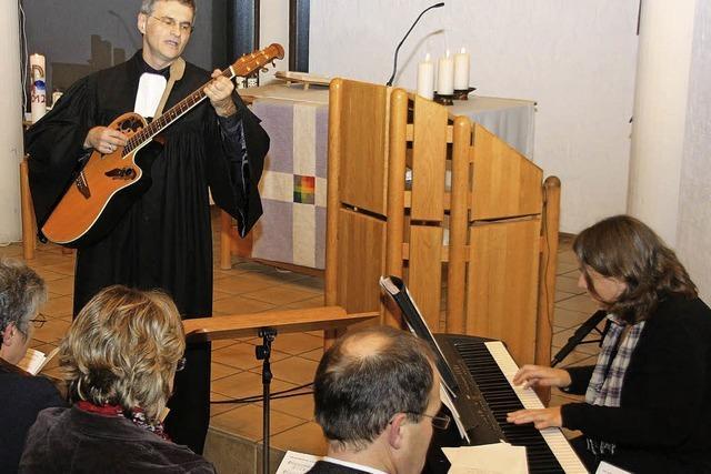 Kirchengemeinde Ehrenkirchen-Bollschweil begrüßte den neuen Pfarrer Fritz Breisacher