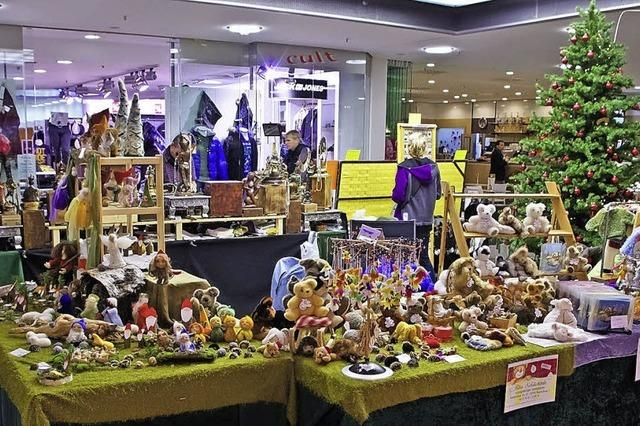 Weihnachtlicher Kunsthandwerkermarkt in der Schwarzwaldcity
