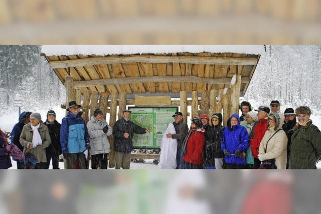 Wanderern zeigen, wo's langgeht auf dem Maiberg