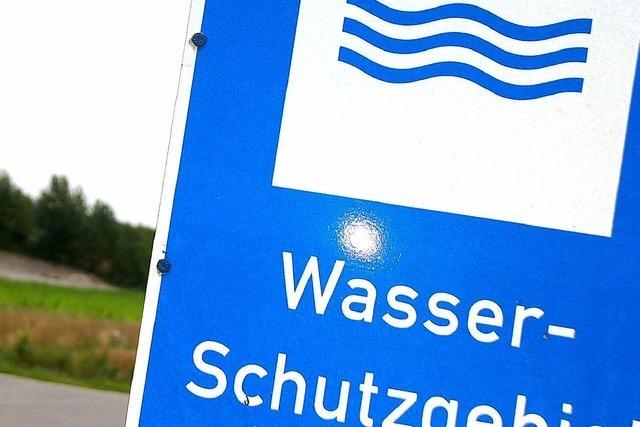 Diskussionen um Wasserschutzzonen