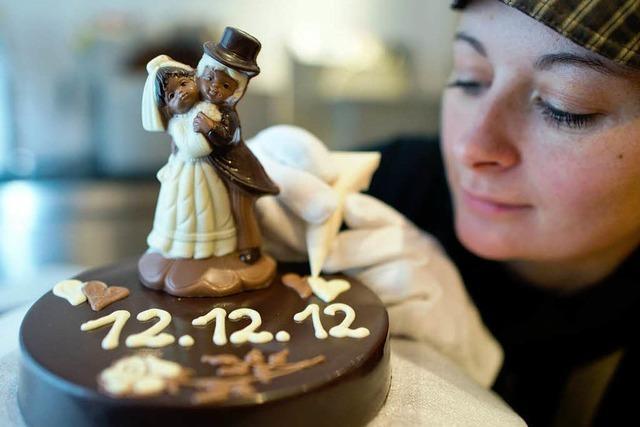 Der 12. 12. 2012 ist als Hochzeitstermin begehrt