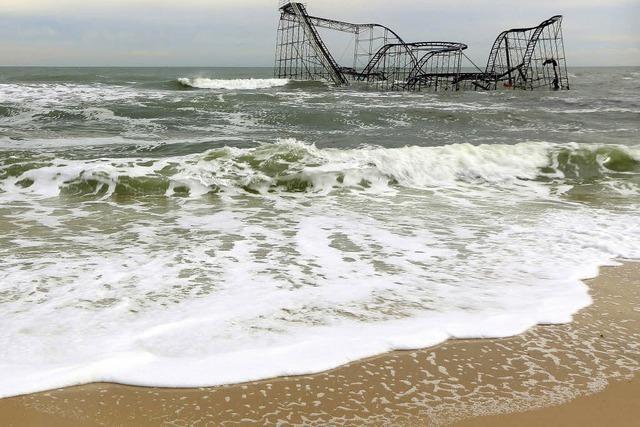 Sandy und die Folgen - ein Familienidyll in Trümmern