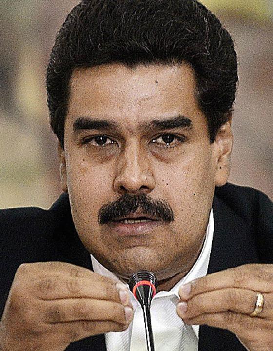 Nicolàs Maduro   | Foto: AFP