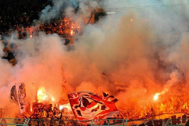 Fan-Krawalle: Dynamo Dresden von DFB-Pokal ausgeschlossen