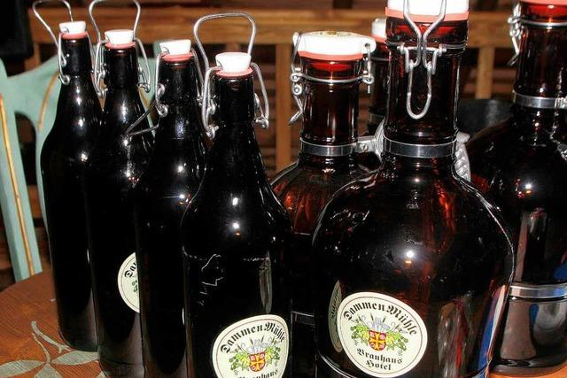 Am Samstag wird das erste Bier ausgeschenkt