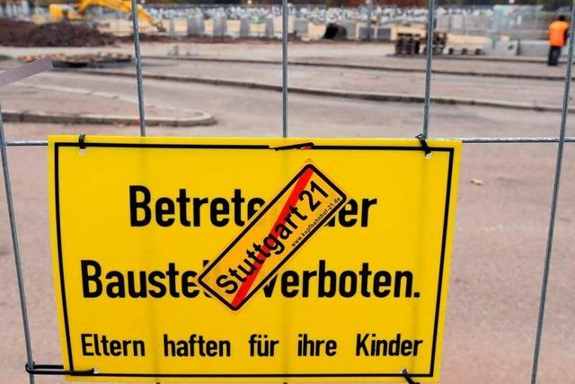 Zeitung: Stuttgart 21 kostet bis zu zwei Milliarden mehr