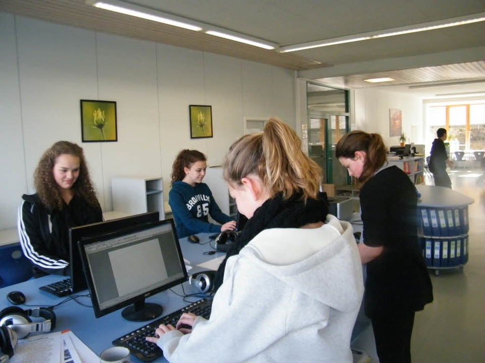 Lernatelier in der Hebelschule Schliengen    Foto: Privat