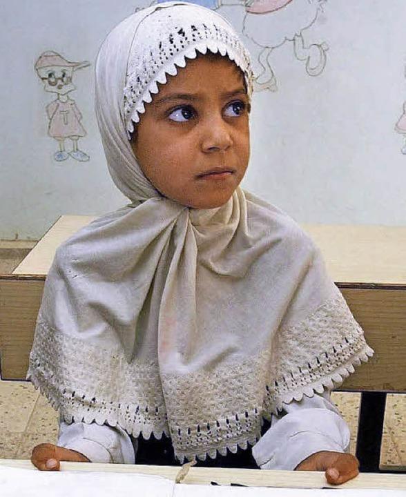 Irakisches Schulmädchen.     Foto: dpa