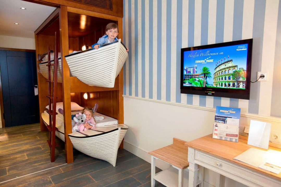 "Einblick ins das Hotel ""Bell Rock""  | Foto: Europa-Park Rust"