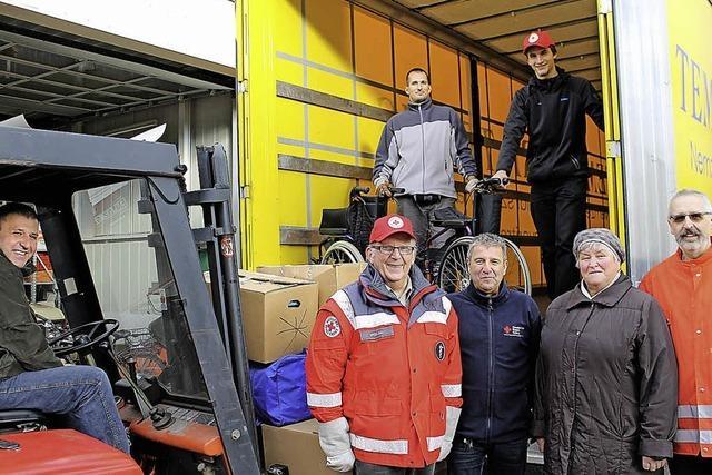 Hilfsgüter für Budapest
