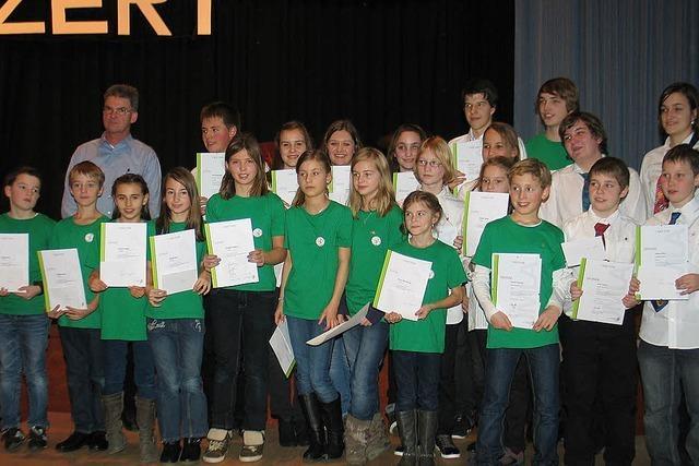 Musikverein Riegel hat erfolgreich um Mitglieder geworben