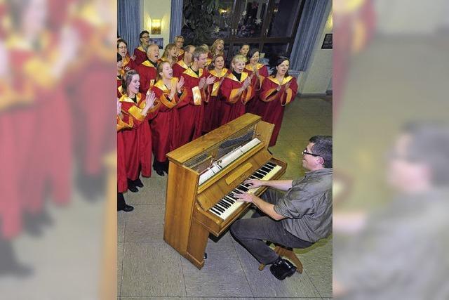 Der Freiburg Gospel Choir gibt sein Jahreskonzert
