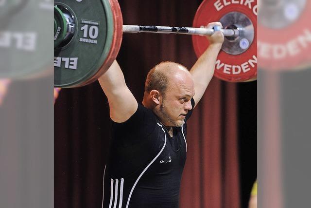 Gewichtheber auf Erfolgskurs