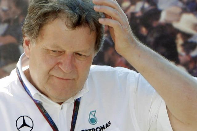 Mercedes trennt sich von Motorsportchef Haug