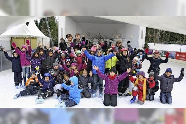 Eislauftraining für Kinder