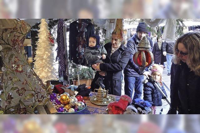 Weihnachtsmarkt in Schopfheims Altstadt