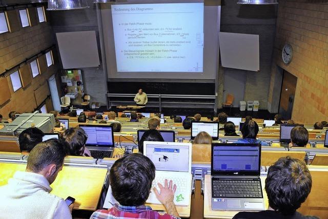 Freiburger Informatiker entwickelt eine App für den Hörsaal