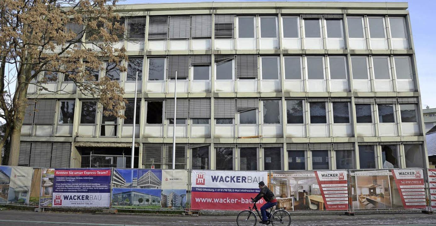 ehemaliges Wasserwirtschaftsamt Ortenb...au Offenburg in ein Ärztehaus umgebaut  | Foto: Ralf Burgmaier
