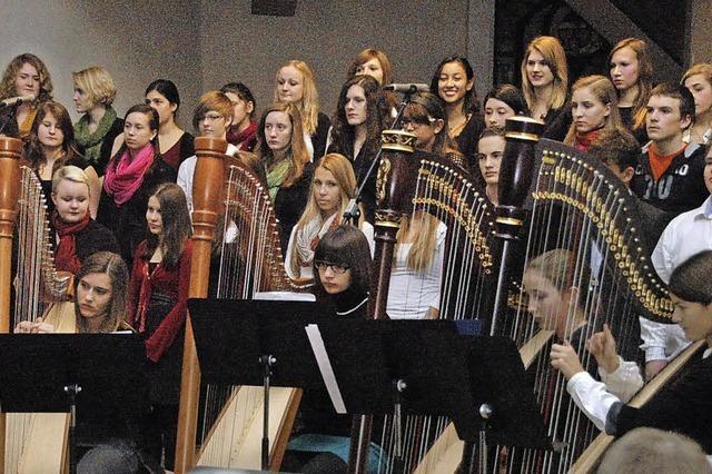 Gesamte Schule von Musik inspiriert