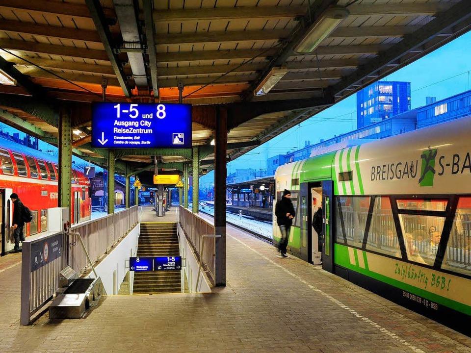Auch wenn die VAG aussteigt, am Angebo...eisgau-S-Bahn soll sich nichts ändern.  | Foto: Thomas Kunz