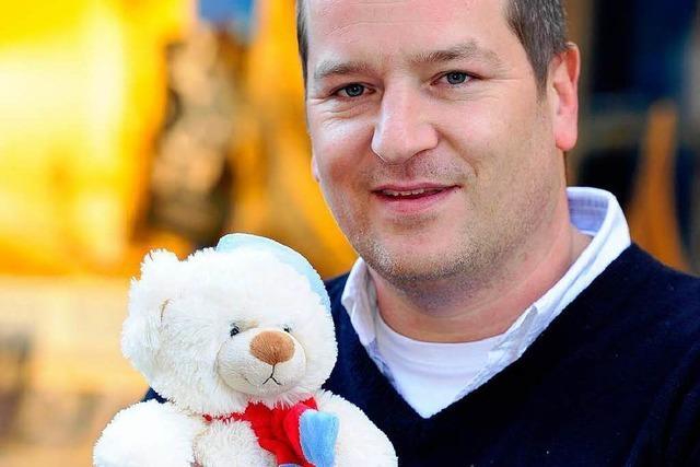 Dirk Philippi vom EHC Freiburg über den 1.Freiburger