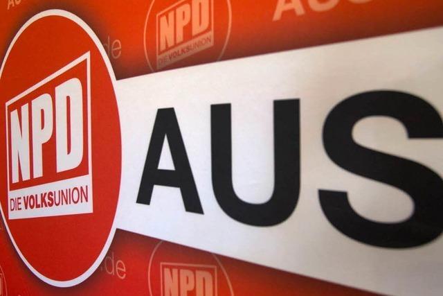 Bundesrat startet neues NPD-Verbotsverfahren