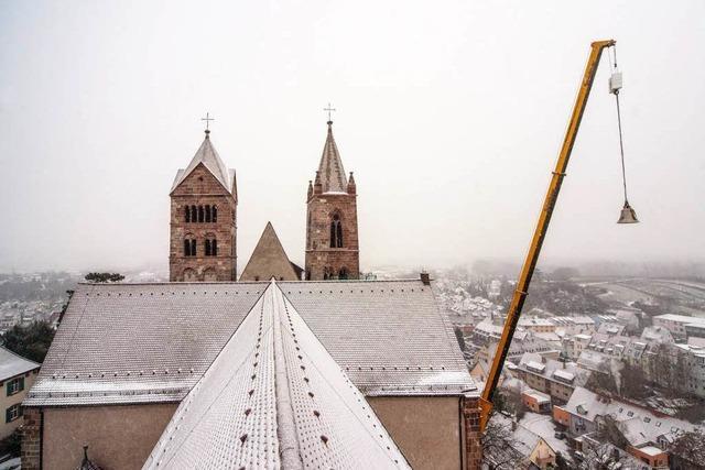 Jetzt sind alle Glocken im Turm