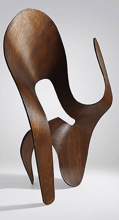 Die 1943 entstandene Molded Plywood Sculpture   | Foto: Vitra