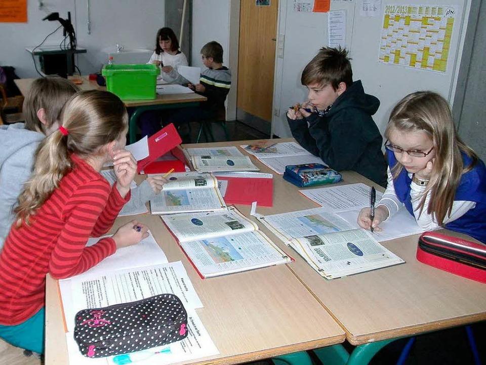 Sechs Sonderschüler lernen nun am Gymnasium.     Foto: Wulf Rüskamp