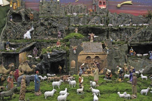 Engel, Hirten und Schafe