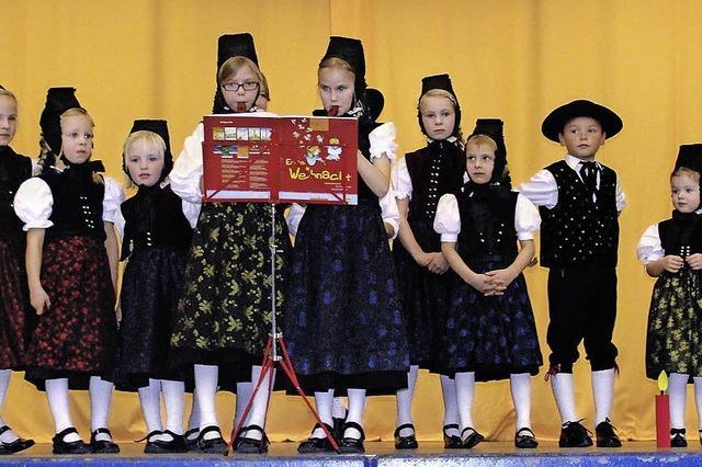 Freude über junge Tänzer