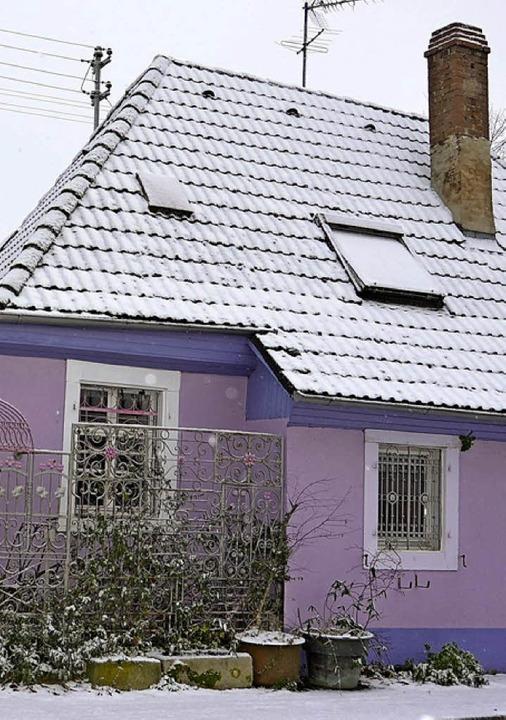 Das Wohnhaus an der Eschbacher Straße ...nn  zur Hundepension umgebaut werden.   | Foto: Heike Lemm