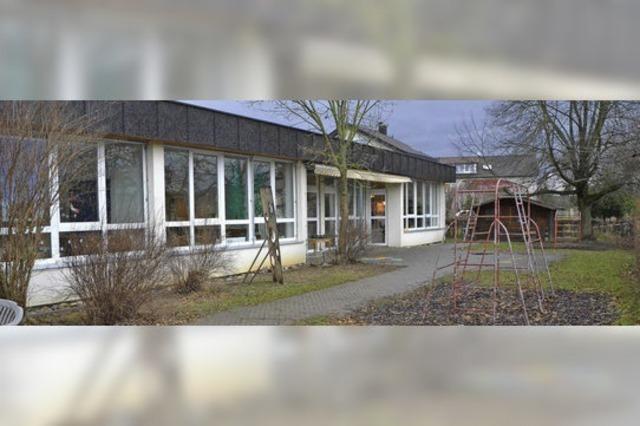 Am Kindergarten wird modernisiert