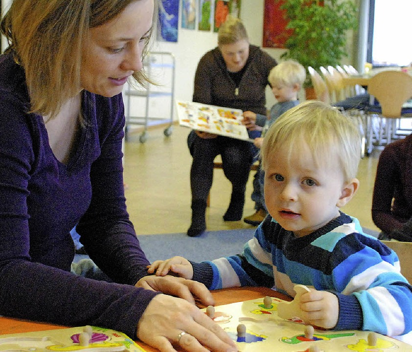 Raum für gemeinsame Zeit für Kinder un...Krabbelgruppe in Hauingen schaffen.     | Foto: Tolsdorf