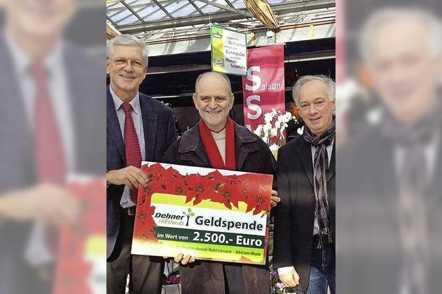 2500 Euro für die Dreiländertafel