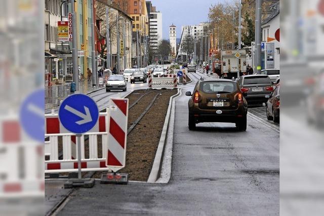 Freie Fahrt auf der Hauptstraße