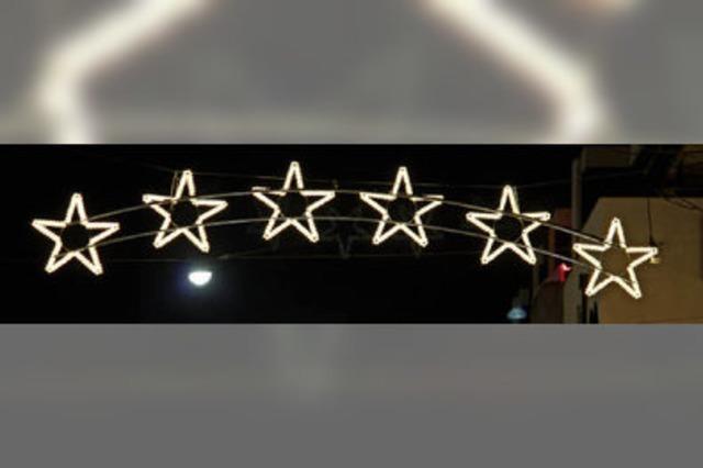 Sternenketten, Lichterbögen, Schneeflocken