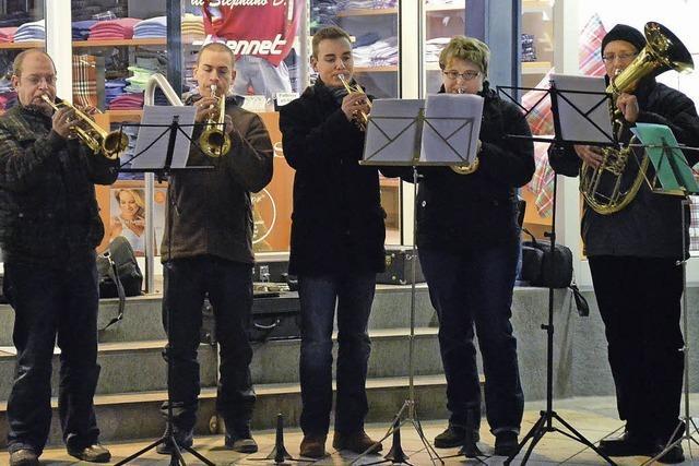 Adventsmusik der Rheinfelder Stadtmusik