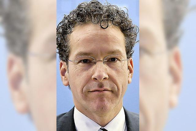 Niederländer Jeroen Dijsselbloem soll die Eurogruppe führen
