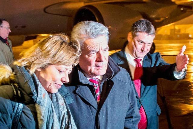 Gauck dankt den Soldatenin Afghanistan
