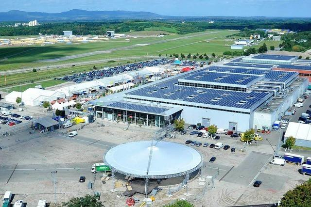 SC-Stadion: Neuer Standort direkt an der Messe?