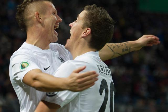 Live-Ticker: Karlsruher SC gegen SC Freiburg: 0:1