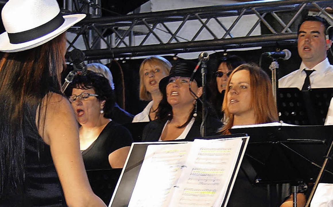 Das Chorfestival war eine tolle Werbun... Chöre konnten damit gewonnen werden.   | Foto: Roswitha Panknin
