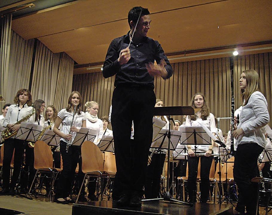 Keine Nachwuchssorgen hat der Musikverein Norsingen.  | Foto: Andreas Schlüter