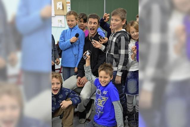 Bärenfelsschüler machen Radio