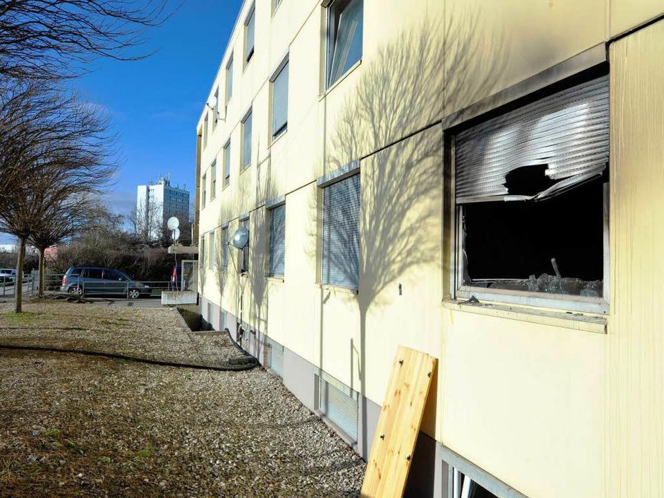 Brand in der Wiesentalstraße  | Foto: Michael Bamberger